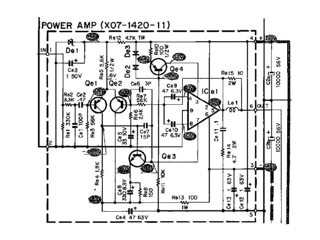 Kenwood 7300 output schematics