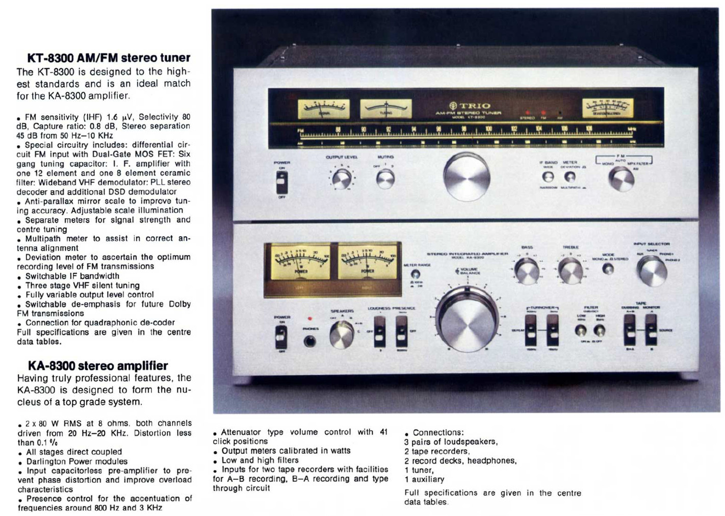 Kenwood KA-8300 brochure