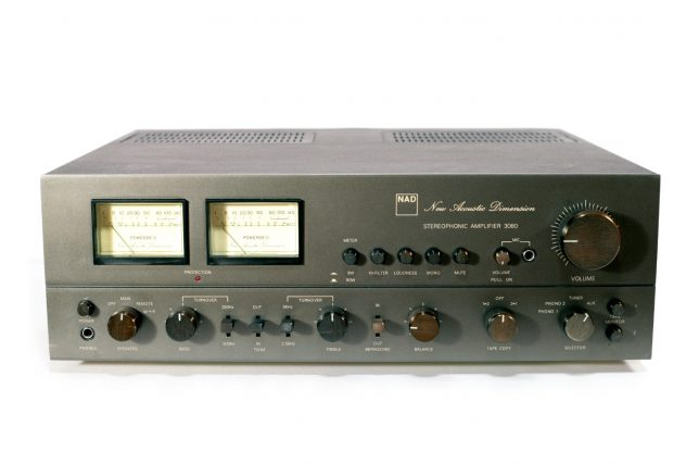 NAD 3080 exterior front